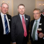John Martin, Drew Harrison and Norman George, from the Class of 1975