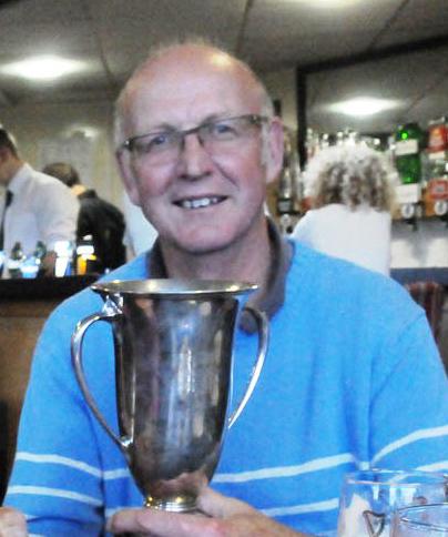 Brian Johnston - last year's individual winner